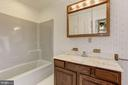 Full Bath with Access from Bedroom #3 and #4 - 7028 HUNTER LN, HYATTSVILLE