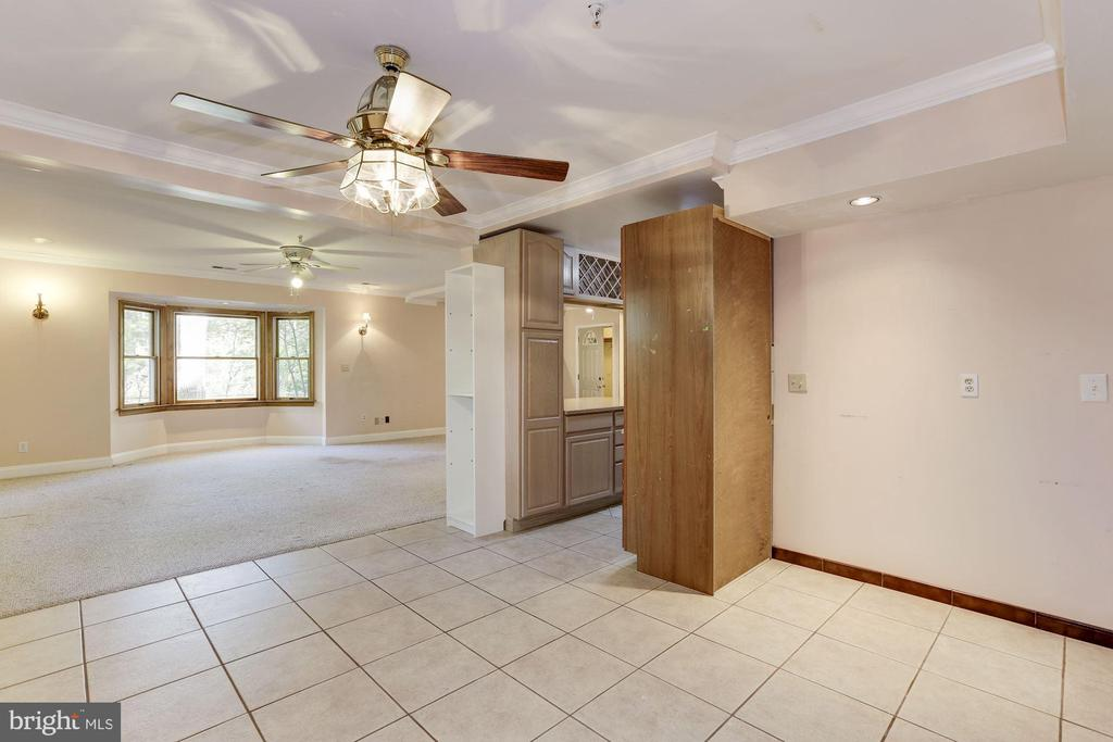 Dining Space on Lower Level - 7028 HUNTER LN, HYATTSVILLE