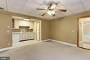 Living Space and Kitchenette - 7028 HUNTER LN, HYATTSVILLE