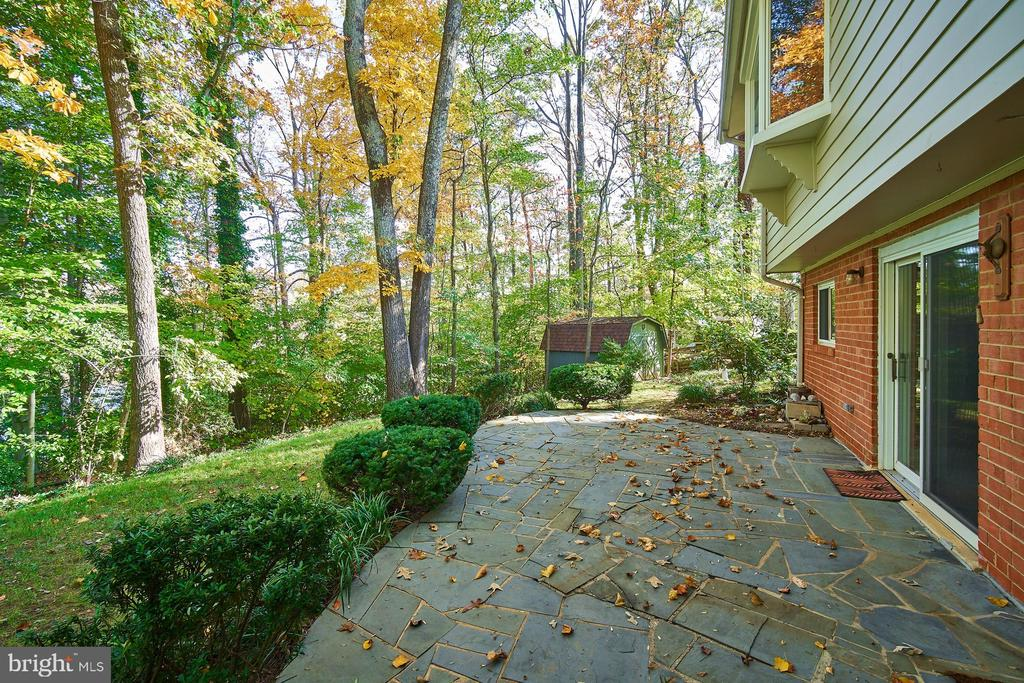 Wooded private lot backing to Lake Royal - 5366 GAINSBOROUGH DR, FAIRFAX