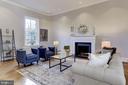 Cozy fireplace - 3306 R ST NW, WASHINGTON