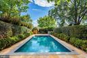 Heated outdoor pool - 3306 R ST NW, WASHINGTON