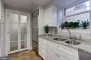 Bright lower-level kitchen - 3306 R ST NW, WASHINGTON
