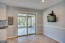 Kitchen leads to Sun Room - 4335 SILAS HUTCHINSON DR, CHANTILLY