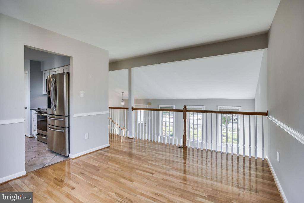 Dining Room overlooking Living Room - 4335 SILAS HUTCHINSON DR, CHANTILLY
