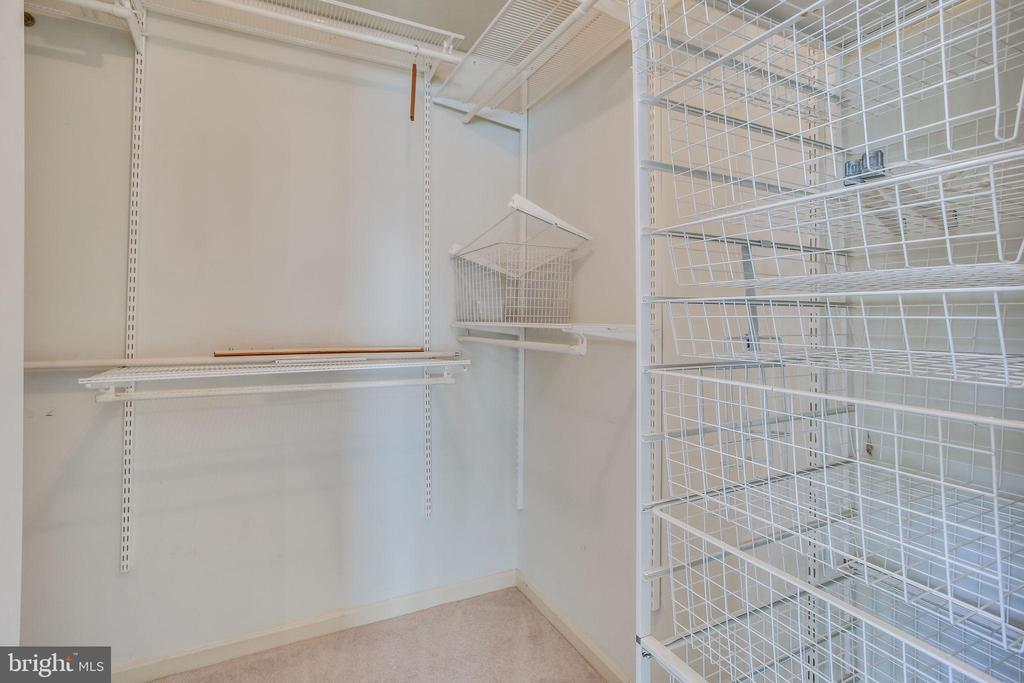 Master Bedroom  Walk In Closet w/ OPrganizers - 4335 SILAS HUTCHINSON DR, CHANTILLY
