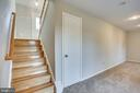 Stairs to Lower Level - 4335 SILAS HUTCHINSON DR, CHANTILLY