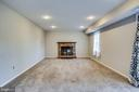 Rec Room w/ Romantic Wood Burning Fireplace - 4335 SILAS HUTCHINSON DR, CHANTILLY