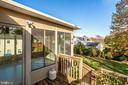 Sun Room , Deck & yard - 4335 SILAS HUTCHINSON DR, CHANTILLY