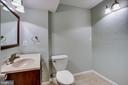 Lower Level 1/2 Bath - 4335 SILAS HUTCHINSON DR, CHANTILLY