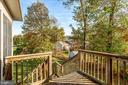 Deck from Stairs to Yard - 4335 SILAS HUTCHINSON DR, CHANTILLY