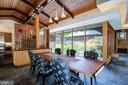 Dining Room overlooking courtyard - 4611 36TH ST N, ARLINGTON