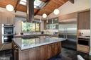 Gourmet kitchen w/ granite &silstone counter tops - 4611 36TH ST N, ARLINGTON