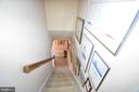 Staircase to Upstairs Bedrooms - 11690 STOCKBRIDGE LN, RESTON