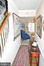 Hall to Living Room with hardwood floor - 11690 STOCKBRIDGE LN, RESTON