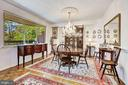 Separate den (currently used as a dining room) - 5600 WISCONSIN AVE #202, CHEVY CHASE