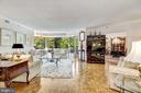 Huge living room and dining room combination - 5600 WISCONSIN AVE #202, CHEVY CHASE
