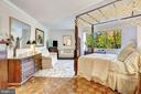 Master bedroom suite - 5600 WISCONSIN AVE #202, CHEVY CHASE