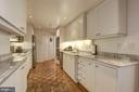 Upgraded kitchen with granite, and SS appliances - 5600 WISCONSIN AVE #202, CHEVY CHASE