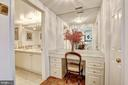 Master bedroom suite dressing area - 5600 WISCONSIN AVE #202, CHEVY CHASE