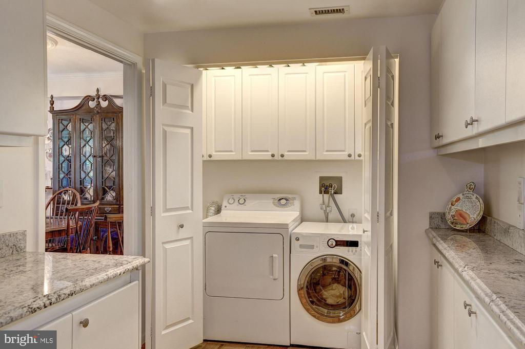 Full size washer and dryer in unit - 5600 WISCONSIN AVE #202, CHEVY CHASE