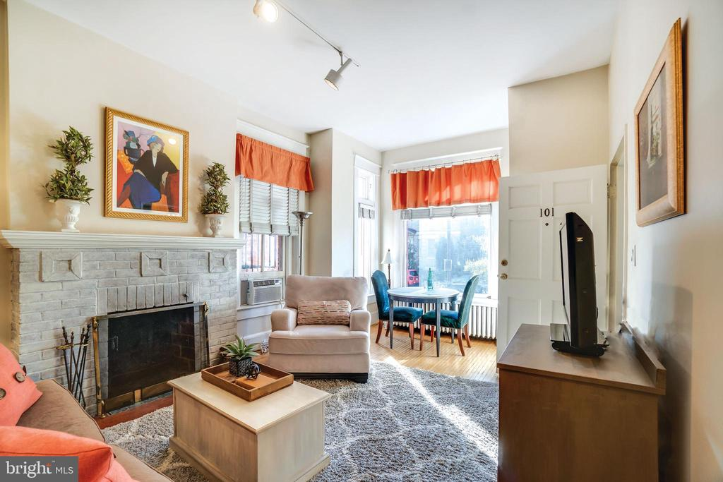 Unit 101: the other AirBnB unit - 1755 18TH ST NW, WASHINGTON