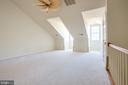 Very Large 3rd Bedroom/Loft, Dormer Windows - 1603 LEEDS CASTLE DR, VIENNA