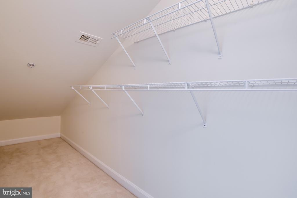 Very Large 3rd Bedroom/Loft, Closet - 1603 LEEDS CASTLE DR, VIENNA