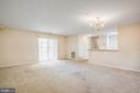 Living and Dining Combination - 501 GARRISON WOODS DR #203, STAFFORD