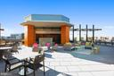 Rooftop Deck Access with Gas Grill and Fire Pit - 7171 WOODMONT AVE #605, BETHESDA