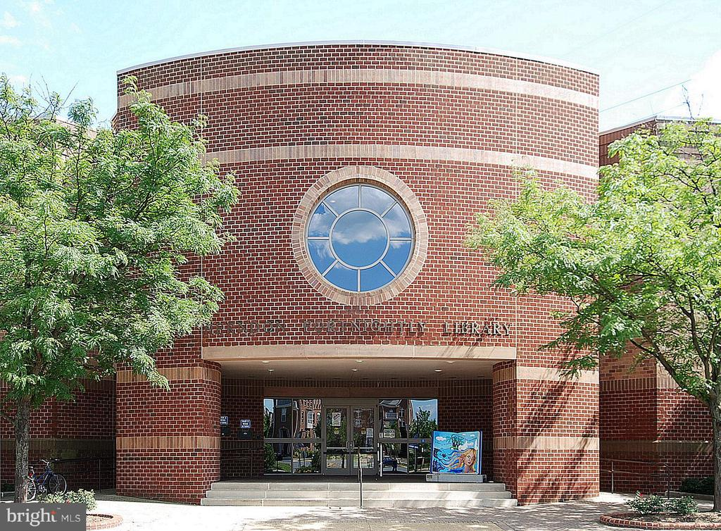 The Herndon Library - something for everyone - 916 MONROE ST, HERNDON