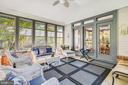 Three season screened porch is the place to be! - 916 MONROE ST, HERNDON
