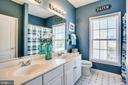 Hall bath - 42926 CLOVERLEAF CT, BROADLANDS
