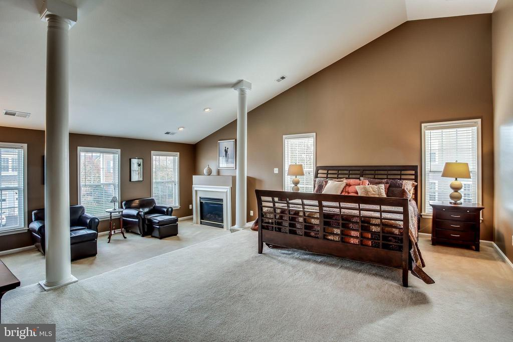 Serene master suite - 42926 CLOVERLEAF CT, BROADLANDS