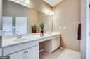 Large master vanity - 42926 CLOVERLEAF CT, BROADLANDS