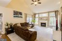 Gas fireplace and tons of natural light - 13171 RETTEW DR, MANASSAS