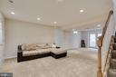 Finished basement - 13171 RETTEW DR, MANASSAS
