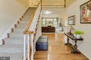 2-story foyer w hardwood floors welcomes you home - 13171 RETTEW DR, MANASSAS