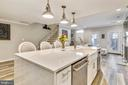 Huge Waterfall Granite Island~with Farmhouse Sink - 1034 N RANDOLPH ST, ARLINGTON