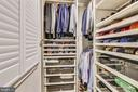 Main Level Master Custom Walk-In Closet - 1034 N RANDOLPH ST, ARLINGTON