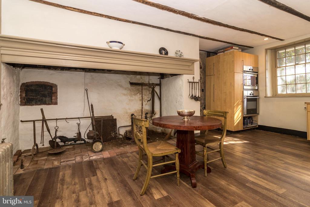 Kitchen- Walk-in Fireplace- House # 1 - 525 LEWIS LN, AMBLER