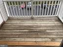 Exterior Balcony - 302 GROSVENOR LN #203, STAFFORD