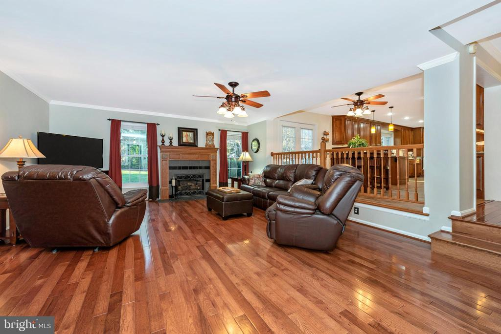 Just steps away~to~the comfortable family room - 5745 STONEY CREEK CT, FREDERICK