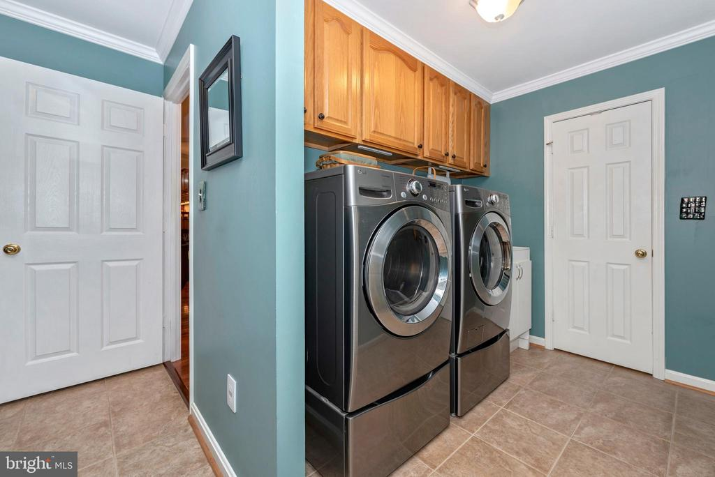 The laundry is on this level also - 5745 STONEY CREEK CT, FREDERICK