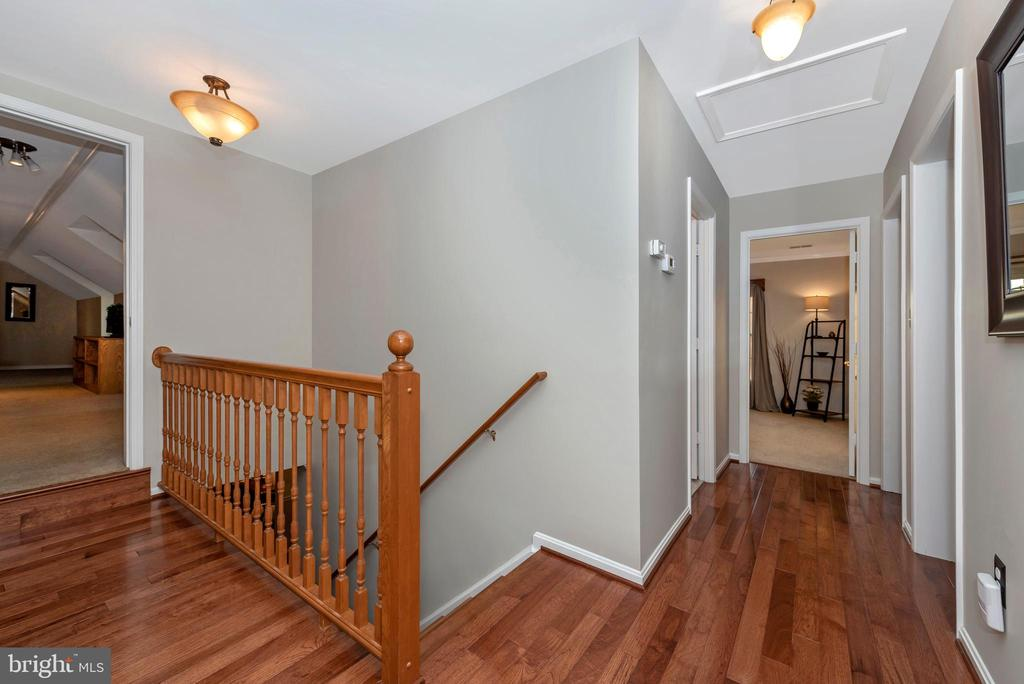 Upstairs from the foyer are~5 bedrooms - 5745 STONEY CREEK CT, FREDERICK