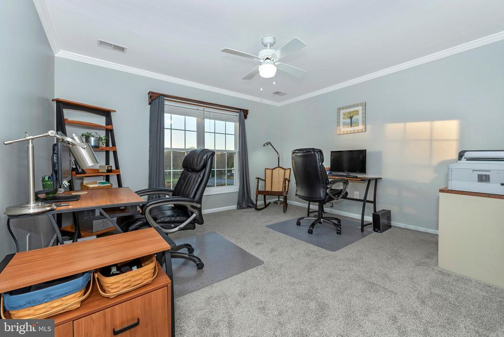And a~bedroom you can use as an office - 5745 STONEY CREEK CT, FREDERICK