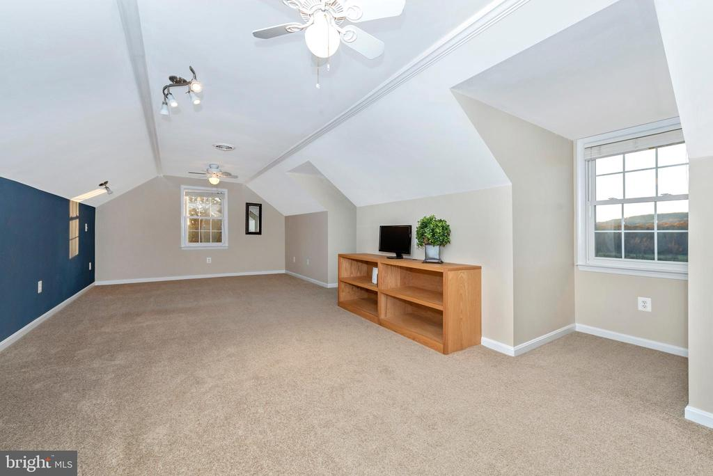And another large open bedroom space for family - 5745 STONEY CREEK CT, FREDERICK
