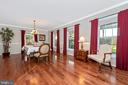 There's room for all in the dining room - 5745 STONEY CREEK CT, FREDERICK