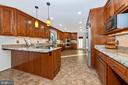 You can dine in the kitchen - 5745 STONEY CREEK CT, FREDERICK