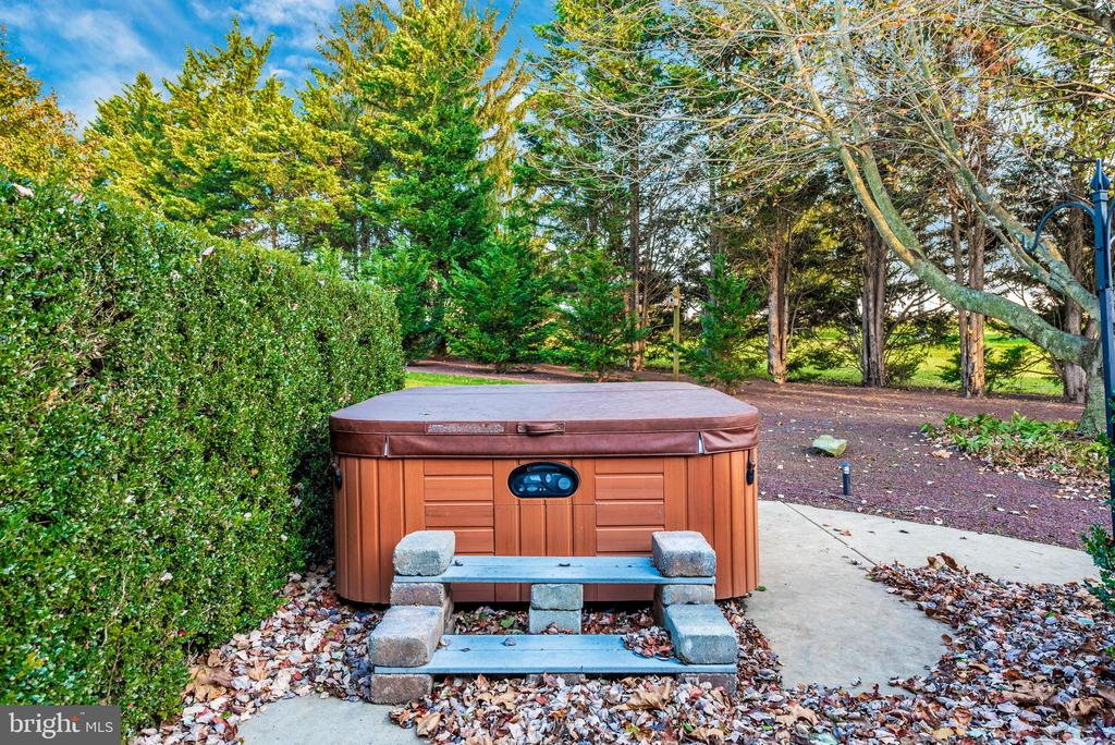 And here's a good view of the hot tub - 5745 STONEY CREEK CT, FREDERICK